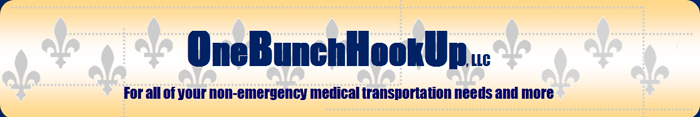 One Bunch Hookup, LLC - For all of your non-emergency transportation needs and more